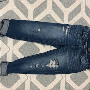 Abercrombie and Fitch Ames slim boy friend jeans